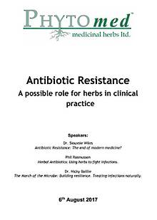 SEMINAR NOTES Antibiotic Resistance: A Possible Role for Herbs in Clinical Practice
