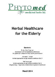 SEMINAR NOTES Herbal Healthcare for the Elderly